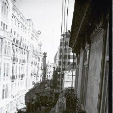 Fotografía antigua: VALENCIA - FALLAS - CLICHE NEGATIVO DE 35 MM EN CELULOIDE - AÑOS 1940. Lote 192315650