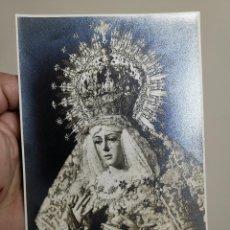 Fotografía antigua: FOTOGRAFIA PAPEL VALCA ESTUDIOS HARETON SEVILLA 17,5 X 12 -NUESTRA SEÑORA DE LA ESPERANZA MACARENA. Lote 192491502