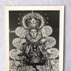 Fotografía antigua: RECUERDO FOTOGRÁFICO HERMANDAD DEL ROCÍO DE TRIANA. Lote 192550123