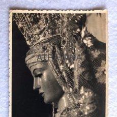 Fotografía antigua: ANTIGUA FOTOGRAFÍA RELIGIOSA. VIRGEN DE LA SOLEDAD, CASTILLEJA - SEVILLA. Lote 192560895