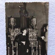 Fotografía antigua: ANTIGUA FOTOGRAFÍA RELIGIOSA. JESÚS NAZARENO. ALCALÁ DE GUADAIRA. SEVILLA.. Lote 192637330