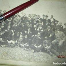 Fotografía antigua: FOTOGRAFIA ANTIGUA REPUBLICA POSIBLEMENTE POLITICOS PERSONALIDADES DE ALICANTE . Lote 192664387