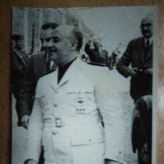 Fotografía antigua: FOTOGRAFIA FRANCISCO FRANCO. BURGOS. MILITAR GUARDIA CIVIL... Lote 193435080