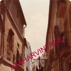 Fotografía antigua: SEMANA SANTA SEVILLA, 1981, LOS SERVITAS,90X130MM. Lote 193911000
