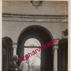 Fotografía antigua: DOS HERMANAS, 1929 , HACIENDA EL LUGAR NUEVO, 64X104MM. Lote 193950567