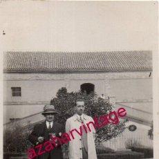 Fotografía antigua: DOS HERMANAS, 1929 , HACIENDA EL LUGAR NUEVO, 64X104MM. Lote 193954471
