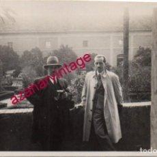 Fotografía antigua: DOS HERMANAS, 1929 , HACIENDA EL LUGAR NUEVO, 64X104MM. Lote 193955162