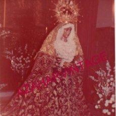 Fotografía antigua: SEMANA SANTA SEVILLA, ANTIGUA FOTOGRAFIA VIRGEN DE LA O, 10X14 CMS. Lote 193957137