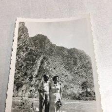 Fotografía antigua: ANTIGUA FOTOGRAFIA - VALLE DE ARAN - 6X9CM. Lote 193985100