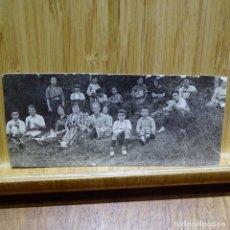 Fotografía antigua: ANTIGUA FOTOGRAFÍA-POSTAL RECORTADA DE PRINCIPIO SIGLO XX.CATELL DE ARAMPRUÑA.. Lote 194148798