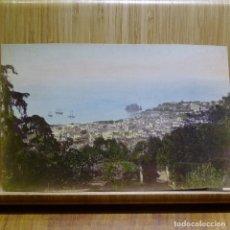 Fotografía antigua: FOTOGRAFÍA ANTIGUA EN COLOR DE CIUDAD DESCONOCIDA.. Lote 194150041