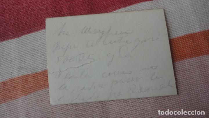 Fotografía antigua: ANTIGUA FOTOGRAFIA DE CHICA.FOTOMATON AÑOS 40 - Foto 2 - 194243663