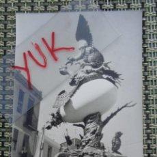 Fotografía antigua: FOTO FALLAS DE VALENCIA - FOTOGRAFIA DE FALLA AÑOS 70. Lote 194243921