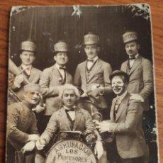Fotografía antigua: AGRUPACIÓN LOS PROFESORES DE MILAN. GRANZMAN. SEVILLA. HACIA 1930.. Lote 194251838