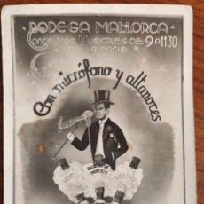 Fotografía antigua: FOTOGRAFÍA PUBLICITARIA. BODEGA MALLORCA. 1942.. Lote 194251990