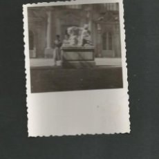 Fotografía antigua: ANTIGUA FOTOGRAFIA LA GRANJA DE SAN ILDELFONSO SEGOVIA. Lote 194258038