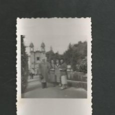Fotografía antigua: ANTIGUA FOTOGRAFIA SANTIAGO DE COMPOSTELA. Lote 194258078