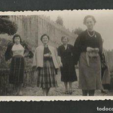 Fotografía antigua: ANTIGUA FOTOGRAFIA BAYONA - VIGO AÑOS CINCUENTA. Lote 194258460