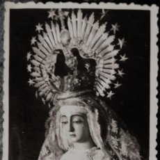 Fotografía antigua: CANTILLANA, SEMANA SANTA. VIRGEN DE LA SOLEDAD. AÑOS 60.. Lote 194260311