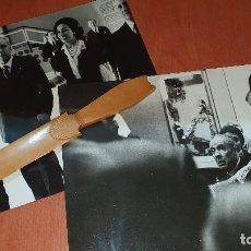 Fotografía antigua: JORGE LUIS BORGES, FOTOGRAFIAS ORIGINALES, 24 X 18, FOTO AMESTOY. Lote 194270090