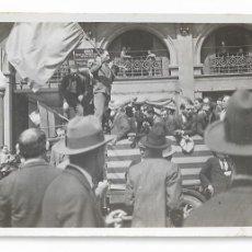 Fotografía antigua: BARCELONA - PROCLAMACIÓ DE REPÚBLICA 1931 - VIA LAIETANA ? - 8,5 X 5,3 CM. - P27089. Lote 194352300