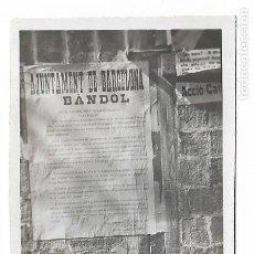 Fotografía antigua: BARCELONA - PROCLAMACIÓ DE LA REPÚBLICA 1931 - BÀNDOL JAUME AIGUADER I MIRÓ - 7,8 X 5,1 CM. - P27089. Lote 194353501