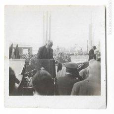 Fotografía antigua: BARCELONA - PROCLAMACIÓ DE LA REPÚBLICA 1931 - NICETO ALCALÁ-ZAMORA - 6 X 6 CM. - P27089. Lote 194354940