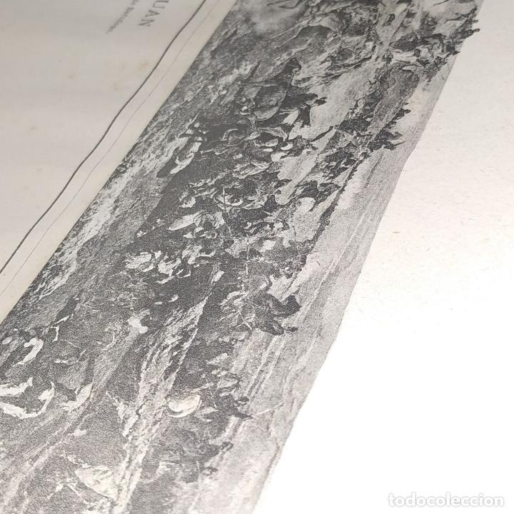 Fotografía antigua: LA BATALLA DE TETUAN. REPRODUCCIÓN FOTOGRAFICA DE LA PINTURA DE FORTUNY. ESPAÑA. XIX - Foto 11 - 181743468