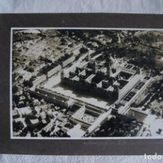 Fotografía antigua: FOTOGRAFIA AEREA 32 X 21 CM MONASTERIO DE SAN LORENZO DEL ESCORIAL MADRID CIRCA 1930. Lote 194489866