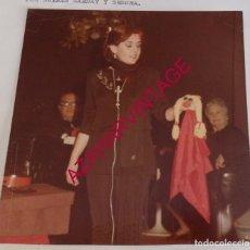 Fotografía antigua: MAGIA, VENTRILOQUIA, ANTIGUA FOTOGRAFIA DE LA VENTRILOQUA MARYSOL, 128X132MM. Lote 194522900