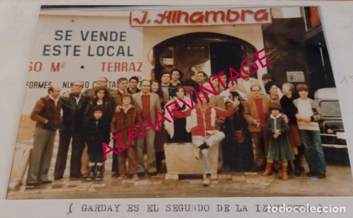 MAGIA, ILUSIONISMO, REUNION DE MAGOS E ILUSIONISTAS, GARDAY, PROFESOR FRANCIS,ETC..15X10 CMS (Fotografía Antigua - Fotomecánica)