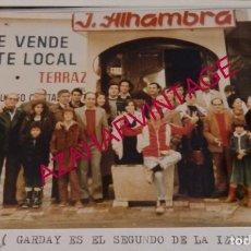 Fotografía antigua: MAGIA, ILUSIONISMO, REUNION DE MAGOS E ILUSIONISTAS, GARDAY, PROFESOR FRANCIS,ETC..15X10 CMS. Lote 194523130