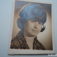 Fotografía antigua: ANTIGUA FOTOGRAFIA TAMAÑO CARNET FOTO BOADA 4 X 3,5 CM. Lote 194556395