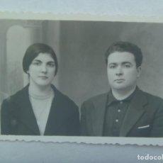 Fotografía antigua: FOTO DE PAREJA , AÑOS 40. Lote 194557232