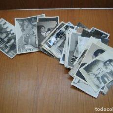 Fotografía antigua: LOTE DE FOTOGRAFÍAS ANTIGUAS. Lote 194585200