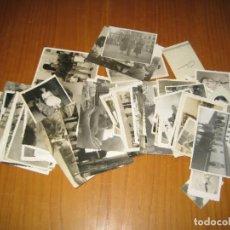 Fotografía antigua: LOTE DE FOTOGRAFÍAS ANTIGUAS. Lote 194585263