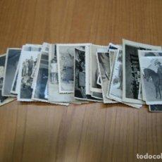 Fotografía antigua: LOTE DE FOTOGRAFÍAS ANTIGUAS. Lote 194585312