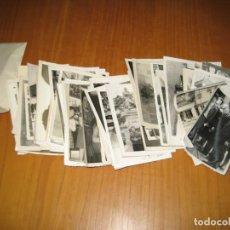 Fotografía antigua: LOTE DE FOTOGRAFÍAS ANTIGUAS. Lote 194585481
