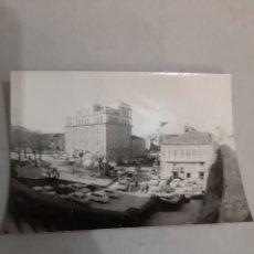 Fotografía antigua: LUGO ANTIGUA FOTO PLAZA FERROL AÑOS 50. Lote 194619645