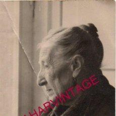 Fotografía antigua: SALAMANCA, ANTIGUA FOTOGRAFIA DE AUREA MORENO BRUSI, 74X124MM. Lote 194626360