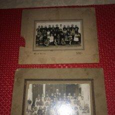 Fotografía antigua: COLEGIOS DE LA PROVINCIA DE VALENCIA - AÑOS 20 - 2 FOTOGRAFÍAS CON UNOS 100 AÑOS DE ANTIGUEDAD. Lote 194635222