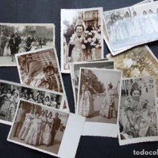 Fotografía antigua: VALENCIA, 18 ANTIGUAS FOTOGRAFIAS FALLERAS, AÑOS 1950-60 - VER FOTOS ADICIONALES. Lote 194703412