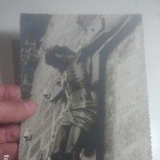 Fotografía antigua: PRECIOSA FOTOGRAFÍA ANTIGUA - CRISTO EN CASAS CONSISTORIALES ALTAS - FOTO CRUZ, BAEZA, JAÉN. Lote 194733288