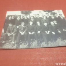 Fotografía antigua: ANTIGUA FOTOGRAFÍA DE UN GRUPO DE ESTUDIANTES DE VALLADOLID...........AÑO ¿?. Lote 194756023