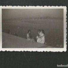 Fotografía antigua: ANTIGUA FOTOGRAFIA LAS ARENAS - BILBAO - AÑOS CUARENTA. Lote 194778592