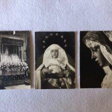 Fotografía antigua: SEMANA SANTA SEVILLA. VIRGEN DE MONTSERRAT. 9X14. Lote 194923857
