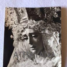 Fotografía antigua: SEMANA SANTA SEVILLA. VIRGEN DE LA CANDELARIA. 13X18. Lote 194924742