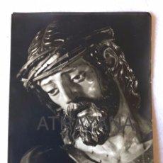 Fotografía antigua: SEMANA SANTA SEVILLA. CRISTO DE LA SALUD, HDAD. DE LA CANDELARIA. 13X18. Lote 194925068