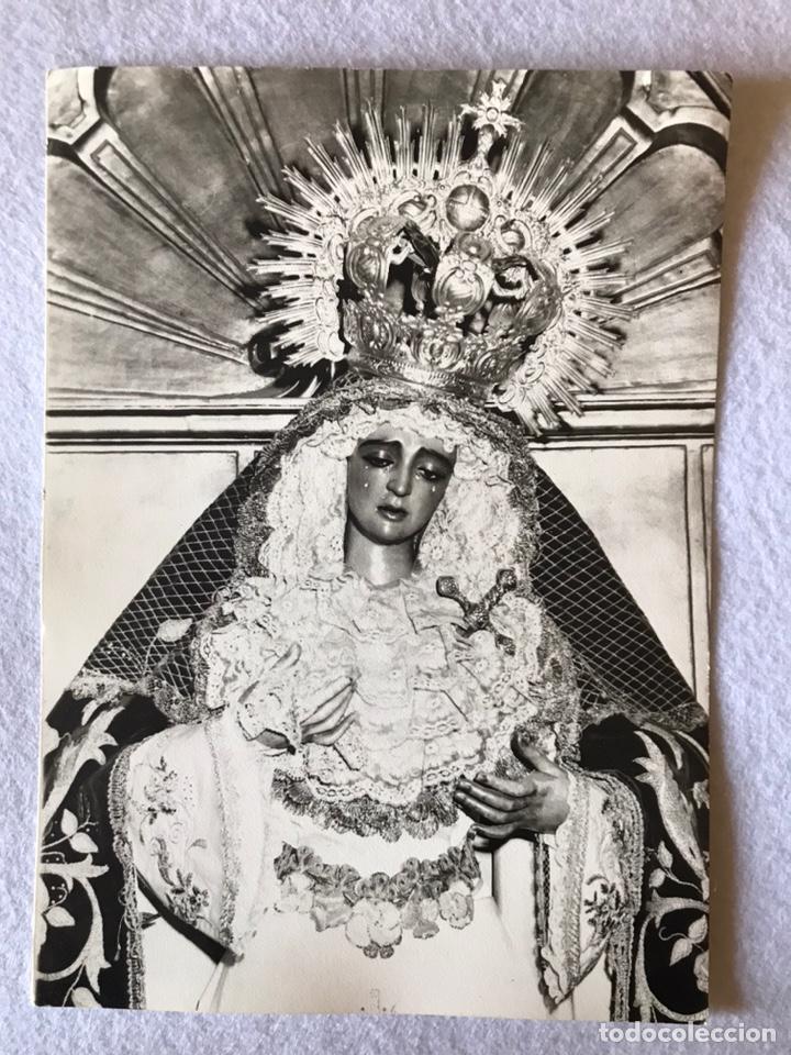 SEMANA SANTA SEVILLA. ANTIGUA FOTO VIRGEN MAYOR DOLOR Y TRASPASO, HDAD. DEL GRAN PODER. 12,5X17,5 (Fotografía Antigua - Fotomecánica)
