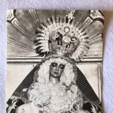 Fotografía antigua: SEMANA SANTA SEVILLA. ANTIGUA FOTO VIRGEN MAYOR DOLOR Y TRASPASO, HDAD. DEL GRAN PODER. 12,5X17,5. Lote 194925778